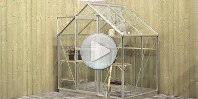 tuinkas ECObasic, de perfecte oplossing voor de hobbykweker