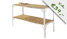Kweektafels van Tuinkassenwinkel.nl zijn erg stabiel dankzij 16 schoren per tafel!