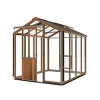 houten tuinkassen